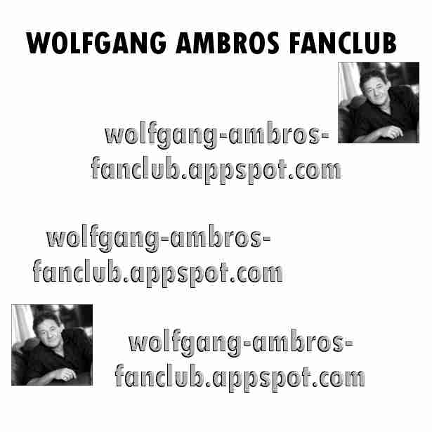 Wolfgang Ambros Fanclub